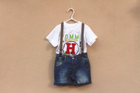 2014 Autumn & winter Causal Children Overalls jeans  TYf14e091558