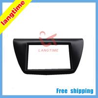 Free shipping-Car refitting DVD frame,DVD panel,Dash Kit,Fascia,Radio Frame,Audio frame for 06 Mitsubishi Lancer IX, 2DIN