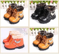 Baby boy children winter boots for boys leather kids boots winter girl 2015 christmas boys snow boots fur kids 05