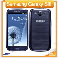 Original Samsung Galaxy S3 i9300 Mobile phone Quad Core 8MP Camera NFC 4.8'' Touch GPS Wifi GSM 3G Unlocked Phone Refurbished
