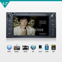 2 din 6.2'' Daihatsu Terios Eco RAV4 COROLLA CAMRY YARIS VIOS car dvd player with GPS,steering wheel control,stereo,usb,radio,BT