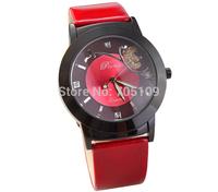 2014 Luxury Butterfly Ladies Women Dress Watches, Fashion & Casual Analog Quartz Wristwatches Rhinestone Watch