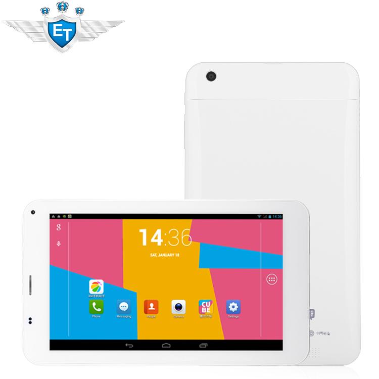 Cube U51GT talk 7x 7x4 quad core Tablet PC 7 inch Phone Call MTK8382 1.3GHz 1GB RAM 8GB WCDMA GPS Bluetooth FM(China (Mainland))