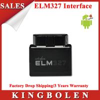 2014 Hottest Black Super MINI Elm327 Bluetooth OBD2 Scanner ELM 327 V1.5 Car Code Scanner Free Shipping