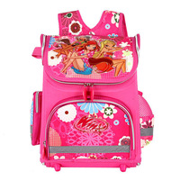 New Children School Bags for Girl WINX Flora Princess Sofia the First Monster High School Knapsack Kids Backpack Waterproof
