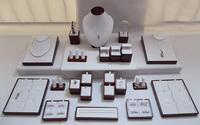 Mahogany Paint Jewelry Counter Set Jewelry Showcase High Quality Diamond Display Rack Jade Display Multi-function Display Kit