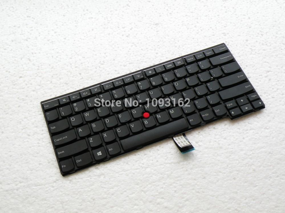 Free shipping New Original Laptop Keyboard Lenovo ThinkPad T431S T440 T440P E431 E440 T440S 04Y2874 04Y0824 English keyboard(China (Mainland))