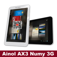 "Ainol AX3 Numy 3G 7"" 1024*600 IPS Android 4.2.2 MTK8382 Quadcore 1.2GHz 3G Phablet Tablet PC GPS Bluetooth WiFi Auto-focus"