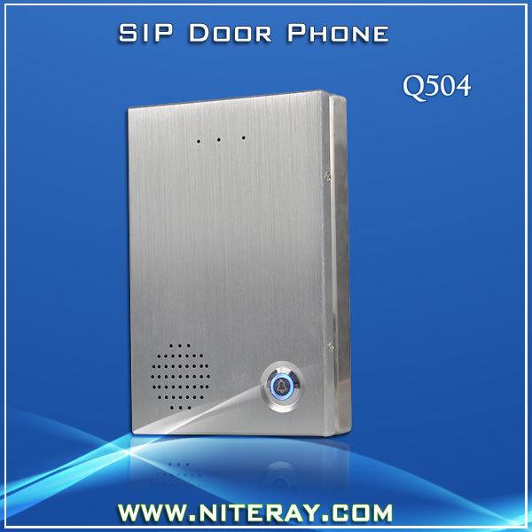 Waterproof access control SIP Door bell Door Phone For Home/ Office Intercom(China (Mainland))