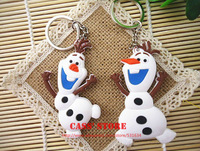 FROZEN Keychain Olaf  Keychain PVC 10 pcs/lot Two different styles Trendy toy for children nice present
