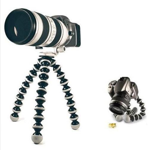 Portable Octopus Leg Flexible Tripod Gorillapod For Digital Camera ZOOM DSLR #L #44288(Ch