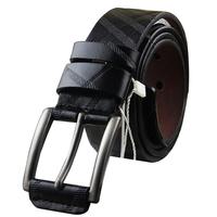 Men's Belt Male artificial leather buckle for men belt casual fashion 3 color Cintos cinturon 2014 Free Shipping L3018