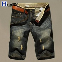 2014 New Arrival Hot Fashion Man's Short Jeans Casual Summer Trousers For Man Free Shipping Size: 28-38