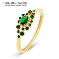 Neoglory Top Quality Austria Rhinestone Zircon Bracelet & Bangles For Women Charm Jewelry Accessories  2014 New Brazil