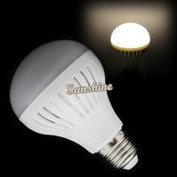 4pcs/Lot Wholesale 9W 220V E27 LED Bulb 27 Led Lamp Warm White SMD5050 Led Light 15485
