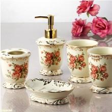 wholesale ceramic bathroom set