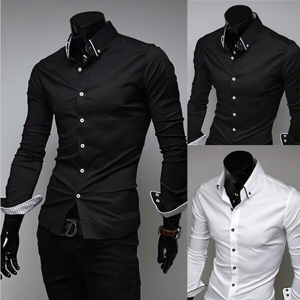 Men Military Shirt Polo Brand Mens casual dress Shirts man slim fit mens camisa masculina male social Cotton white Short XXXL(China (Mainland))