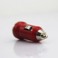 Universal Mini Portale 5V 1A Adapted for iPhone 3G 3GS 4 4S 5 5S for Samsung Cell Mobile Phone The Bullet Car Charger
