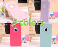 for iPhone 5S Case,0.3mm Ultra Thin Slim Transparent Matte Frosted Hard Cover Case for iPhone 5 5G 5S PC01
