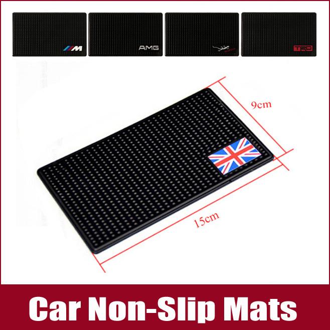 2 Pcs Car Non-Slip Mats Dashboard Phone Mat Auto Anti-Slip Mat For Mercedes-Benz BMW Audi Toyota Ford Volkswagen Mitsubishi(China (Mainland))