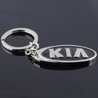 new 2014 KIA car logo keychain novelty items promotional trinket gadget free shipping