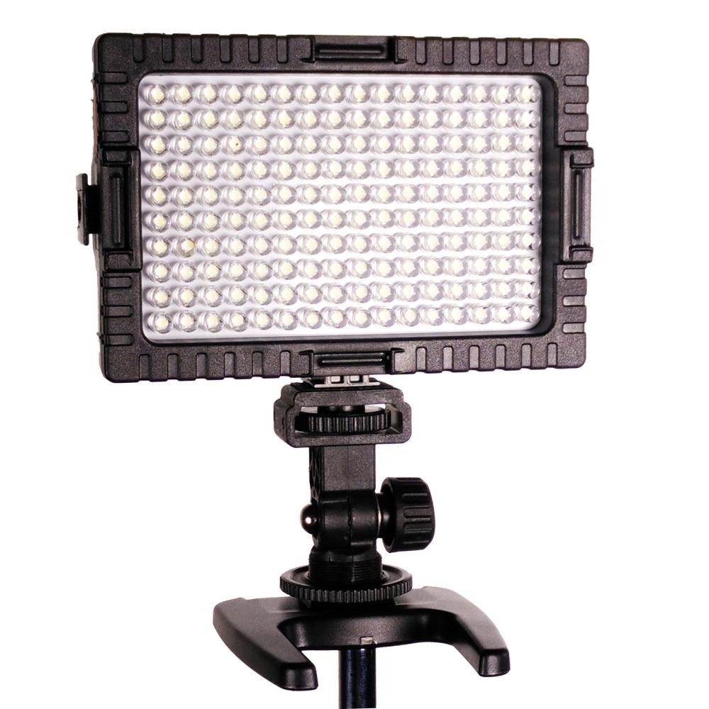Сокол глаза dv-160v cri95 + 160 из светодиодов видео камеры лампочка фотография освещение 5500 к + 2200 мач батарея + зарядное устройство для канона nikon