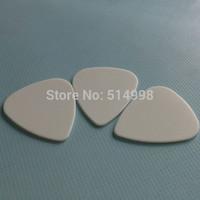 White Nylon guitar picks,Nylon material guitar plectrums 1.0mm