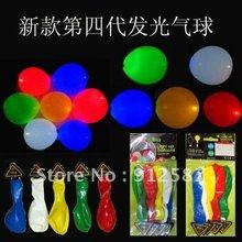 purple led balloons promotion