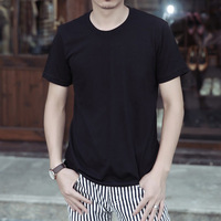 New 2014 Men T-Shirts,round neck T shirts,fashion O-neck t shirt,Active stylish Men's Short Sleeve Solid Color Z73