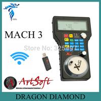 2014 Version Wireless Electronic Handwheel MPG USB Mach3 for CNC Machine