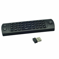 Free Shipping 2.4GHz wireless  Fly Air Mouse Keyboard remote control for IPTV, google android Mini PC TV  box