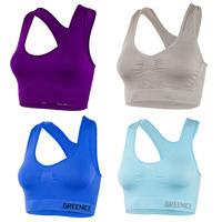 Super Elasticity High-end brand quality women crop top sport bra vest yoga girls tight fitted genuine bodybuilding fitness