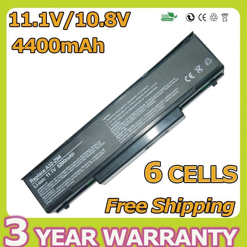6 сотовый аккумулятор для ноутбука ASUS A32-Z94 а32-z96 A9 ...