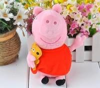 20PCS/LOT New baby kids peppa pig plush toys george pig dolls anime peppa pig toys hold Teddy Stuffed Animals Dolls 20011 b011