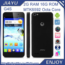 Original Jiayu G4S MTK6592 Octa Core 1.7GHz 2gb Ram Android4.2 phone Jiayu G4 G4C Mtk6582 3000mah Quad Core Mobile Phone(China (Mainland))