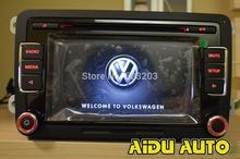 VW Original OEM Car support USB Camera RVC Radio Golf 5 6 Jetta CC Tiguan Passat  RCD510  With Code(China (Mainland))