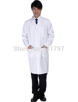 Free Shipping Medical Uniforms/Polyester Lab Coat/Doctor Uniform/Lab Coat For Medical