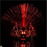 2014 christmas lembrancinhas de casamento colorful light flash changing 8-colors dancing headgear butterfly crown fiber-optic