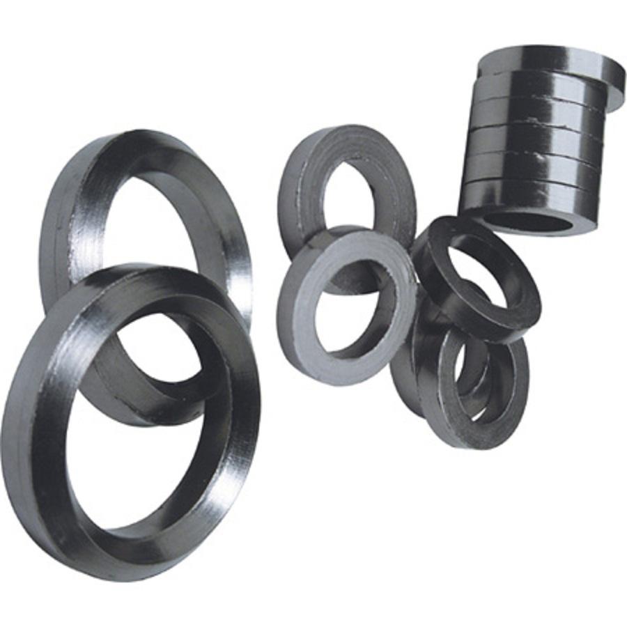 Id85 * OD116mm anel de vedação de grafite 10 pcs / grafite expandido anéis / anéis / trocador de calor de vedação de pressão juntas(China (Mainland))