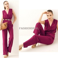 Wholesale Womens Strapless jumpsuit 2014 new Fashion spring -Summer Leopard Playsuit Bodysuit for womanSV001664#715