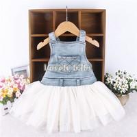 2014 new arrival fashion cute girls dress White princess tulle dresses children tutu for girls free shipping SV000729 b008