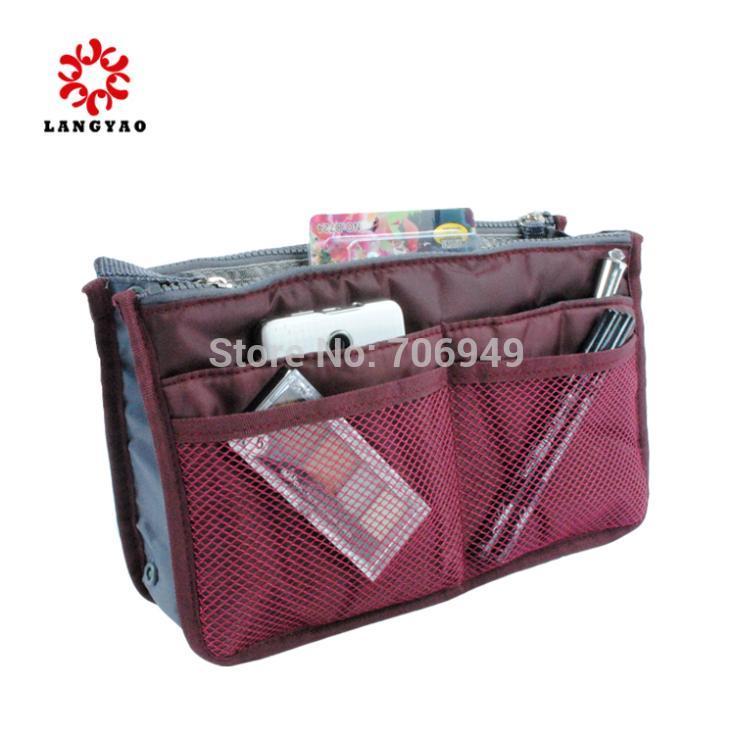 1pc New 2015 Practical Women Cosmetics Bags Wash Travel Handbag Makeup Organizer Clutch Necessaries -- BIB28 Wholesales(China (Mainland))