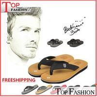 High Score 2014 New design Summer Men Burst Shall Pinch Sandals Slippers Rome Red Brown Grey Coffee Flip flops Size 40-44 Hot