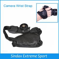 Brand High Quality Camera Wrist Strap Faux Leather Camera Hand Grip Camera Wrist Photo Studio Accessories for SLR/DSLR
