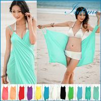 2015 New Beach Dress Wholesale Sexy Beach Cover Up Summer Swim Dresses Fashion Women Dress