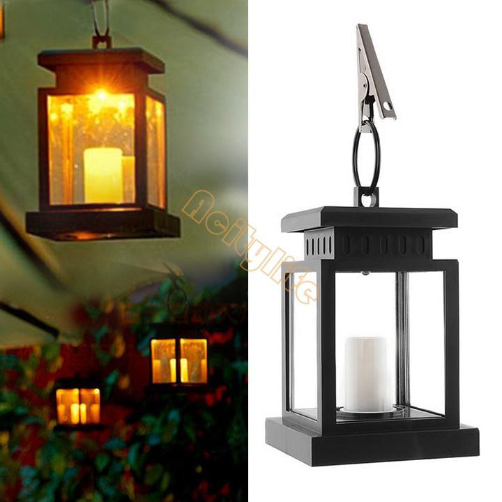 NEW Solar Power Light fo garden/home Twinkle Candle Led Light Umbrella Tree Lantern Hang Lamp b4 SV002237(China (Mainland))