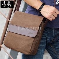 Eshow Brand men travel canvas messenger bags  vintage shoulder bags BFK010401