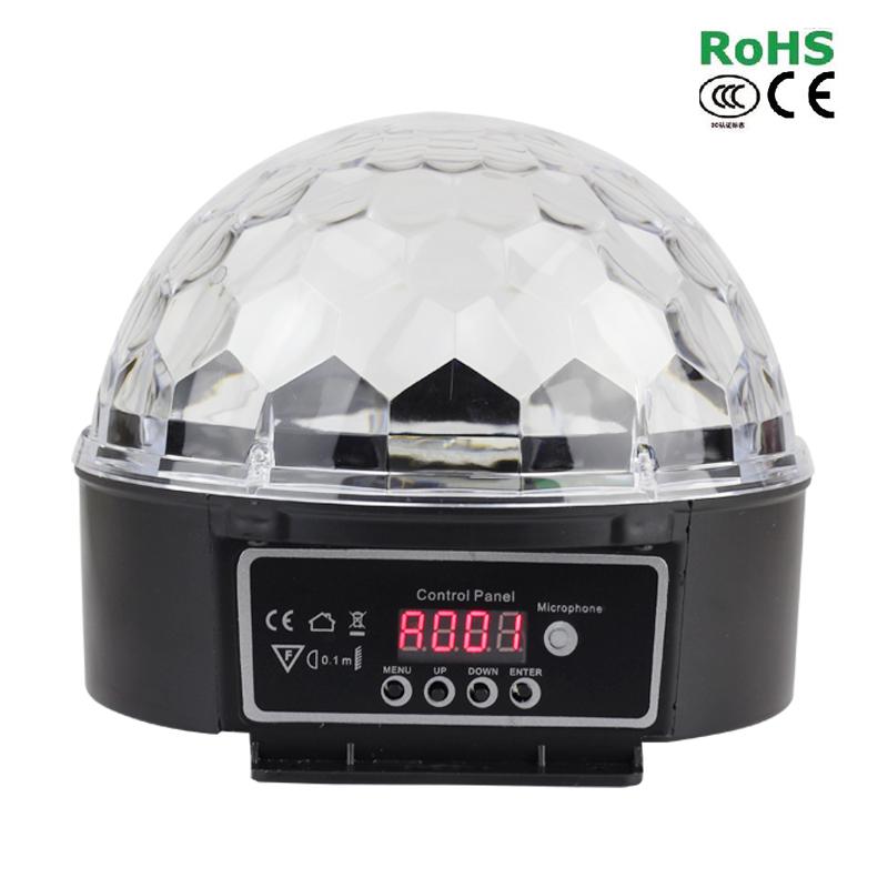 30W RGB LED DMX 512 Stage Lights Crystal Magic Ball Lighting Effect Light For Bar, Party, Nightclub, Disco(China (Mainland))