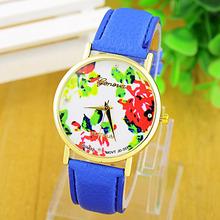 2015 New Fashion GENEVA Watches Women Dress Watch women stylish watch Quartz Watches orologio da polso