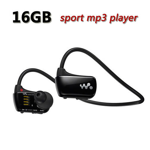 Free Shipping W273 Sports Mp3 player for sony headset 4GB NWZ-W273 Walkman Running earphone Mp3 player headphone(China (Mainland))